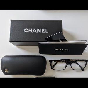 Authentic Chanel 3264 Q c.501 54 mm eyeglasses